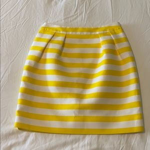 Kate Spade Yellow Skirt Size 0